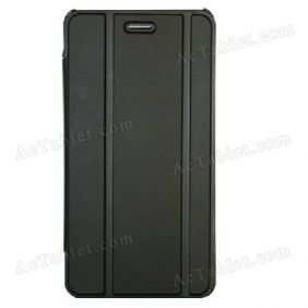 Leather Case Cover for PiPo Talk T4 MTK6572 Dual core Tablet PC 6.5 Inch