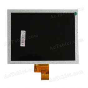 LCD Display Screen Replacement for Chuwi V8 RK3066 Dual Core 8 Inch Android Tablet PC