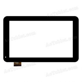 Dptech 300-N4820A-A00 MHS Digitizer Glass Touch Screen Replacement for 9 Inch MID Tablet PC