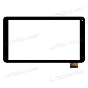 CTD FM102201KA Digitizer Glass Touch Screen Replacement for 10.1 Inch MID Tablet PC