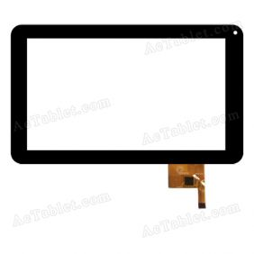 NT11003 120429 Digitizer Glass Touch Screen Replacement for 9 Inch MID Tablet PC