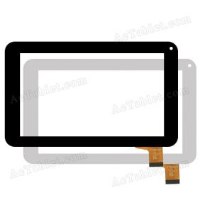 MGLCTP-111 Digitizer Glass Touch Screen Replacement for 7 Inch MID Tablet PC