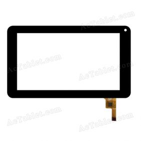FM700402TD Digitizer Glass Touch Screen Replacement for 7 Inch MID Tablet PC