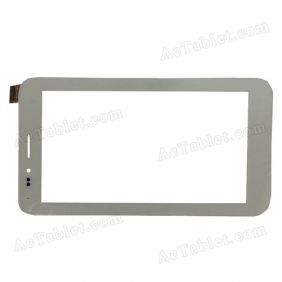 YDT1247-A0 Digitizer Glass Touch Screen Replacement for 7 Inch MID Tablet PC