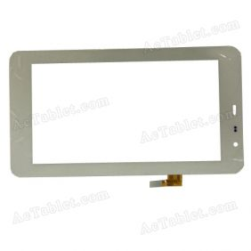 VTC5065A02-FPC-2.0 Digitizer Glass Touch Screen Replacement for 7 Inch MID Tablet PC