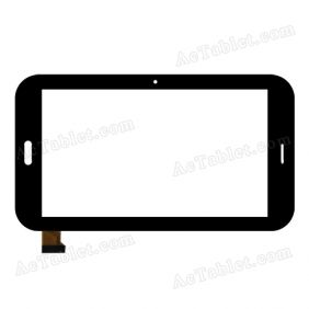 YDT1194-A3 Digitizer Glass Touch Screen Replacement for 6.5 Inch MID Tablet PC