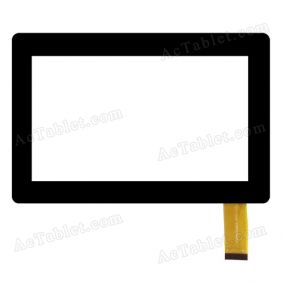 VTC5070A93-FPC-1.0 Digitizer Glass Touch Screen Replacement for 7 Inch MID Tablet PC