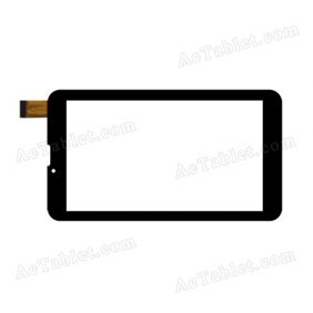 YDT1259-A1 Digitizer Glass Touch Screen Replacement for 7 Inch MID Tablet PC