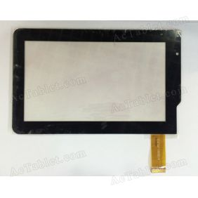 A130035E1-FPC-V1.0 Digitizer Glass Touch Screen Replacement for 7 Inch MID Tablet PC