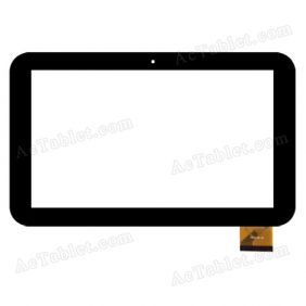 YDT1238-A2 Digitizer Glass Touch Screen Replacement for 10.1 Inch MID Tablet PC