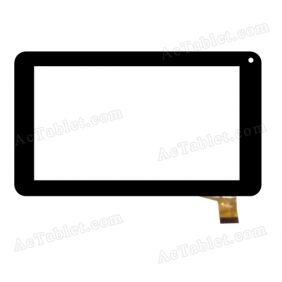 ZP9020-7 KDX Digitizer Glass Touch Screen Replacement for 7 Inch MID Tablet PC