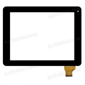 FPC-TP097004(D97)-00 KDX Digitizer Glass Touch Screen Replacement for 9.7 Inch MID Tablet PC