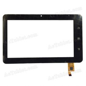 CTD070AJSFT01 P23029A LLT_01 Digitizer Glass Touch Screen Replacement for 7 Inch MID Tablet PC
