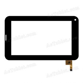 04-0700-0777 V1 Digitizer Glass Touch Screen Replacement for 7 Inch MID Tablet PC