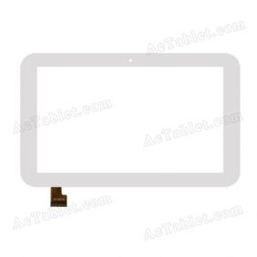 YDT1206-A2 Digitizer Glass Touch Screen Replacement for 7 Inch MID Tablet PC