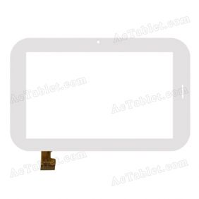 YDT1206-A1 Digitizer Glass Touch Screen Replacement for 7 Inch MID Tablet PC