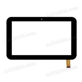 LHJ0219-FPC V3 Digitizer Glass Touch Screen Replacement for 7 Inch MID Tablet PC