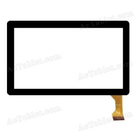 MJK-0101 Digitizer Glass Touch Screen Replacement for 7 Inch MID Tablet PC