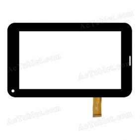 HH070FPC-025B-DST Digitizer Glass Touch Screen Replacement for 7 Inch MID Tablet PC