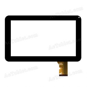 FTouch GT10PH725 HXS Digitizer Glass Touch Screen Replacement for 9 Inch MID Tablet PC