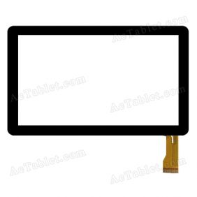 LYH-758B Digitizer Glass Touch Screen Replacement for 7 Inch MID Tablet PC