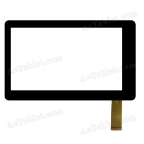 DPC002318E Digitizer Glass Touch Screen Replacement for 7 Inch MID Tablet PC