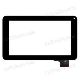 TPC0588 VER1.0  Digitizer Glass Touch Screen Replacement for 7 Inch MID Tablet PC