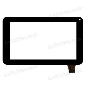 MF-553-070F Digitizer Glass Touch Screen Replacement for 7 Inch MID Tablet PC