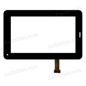 GT70730-2 FHX Digitizer Glass Touch Screen Replacement for 7 Inch MID Tablet PC