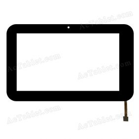 A1-JQ7043-FPC Digitizer Glass Touch Screen Replacement for 7 Inch MID Tablet PC