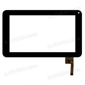 JQ7040AFP-01 Digitizer Glass Touch Screen Replacement for 7 Inch MID Tablet PC