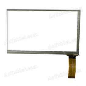 HOTATOUCH C178109A1-GG FPC615DR Digitizer Glass Touch Screen Replacement for 7 Inch MID Tablet PC