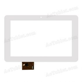 SLC07005BCOF Digitizer Glass Touch Screen Replacement for 7 Inch MID Tablet PC