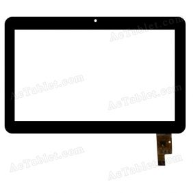 RS7F1609032V1.4 Digitizer Glass Touch Screen Replacement for 7 Inch MID Tablet PC
