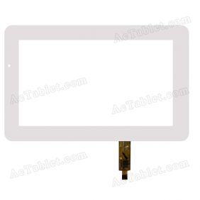 TPC0401 VER1.0 Digitizer Glass Touch Screen Replacement for 7 Inch MID Tablet PC
