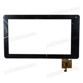 RS7F1609025V1.3 Digitizer Glass Touch Screen Replacement for 7 Inch MID Tablet PC