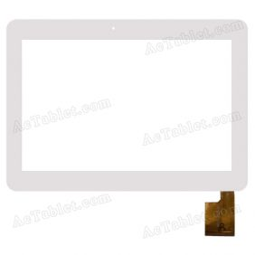 AD-C-100636 Digitizer Glass Touch Screen Replacement for 10.1 Inch MID Tablet PC