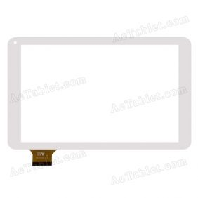 HY TPC-51104 Digitizer Glass Touch Screen Replacement for 10.1 Inch MID Tablet PC