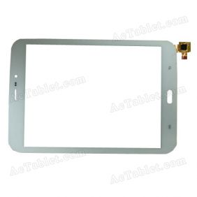 Digitizer Touch Screen Replacement for iberry Auxus CoreX8 3G Octa Core 7.85 Inch Tablet PC