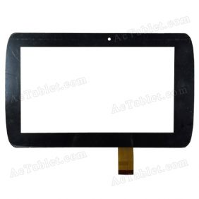 GT70M728 Digitizer Glass Touch Screen Replacement for 7 Inch MID Tablet PC