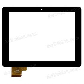 GM052-3 Digitizer Glass Touch Screen Replacement for 8 Inch MID Tablet PC