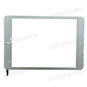 AD-C-800916-FPC Digitizer Glass Touch Screen Replacement for 7.9 Inch MID Tablet PC