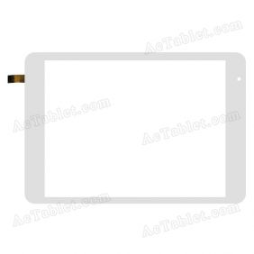 ACECT080007-FPC-A1 YT Digitizer Glass Touch Screen Replacement for 7.9 Inch MID Tablet PC