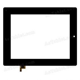 PB80DR8357 Digitizer Glass Touch Screen Replacement for 8 Inch MID Tablet PC