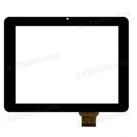 TPC97101-1 Digitizer Glass Touch Screen Replacement for 9.7 Inch MID Tablet PC