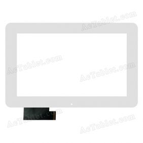 HOTATOUCH C151240B1 DRFPC181T-V1.0 Digitizer Glass Touch Screen Replacement for 10.1 Inch MID Tablet PC