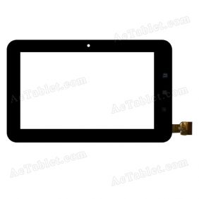 TPC0348 VER2.0 Digitizer Glass Touch Screen Replacement for 7 Inch MID Tablet PC