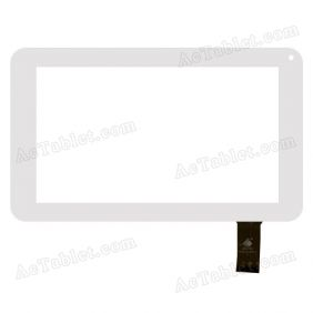 TPC0518 VER1.0 Digitizer Glass Touch Screen Replacement for 7 Inch MID Tablet PC