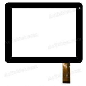 TPC0406 VER2.0 Digitizer Glass Touch Screen Replacement for 8 Inch MID Tablet PC