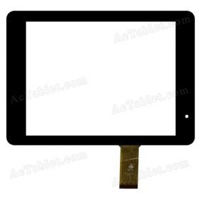 TPC0728 VER1.0 Digitizer Glass Touch Screen Replacement for 8 Inch MID Tablet PC